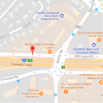 Mapa San Antonio Business Capital
